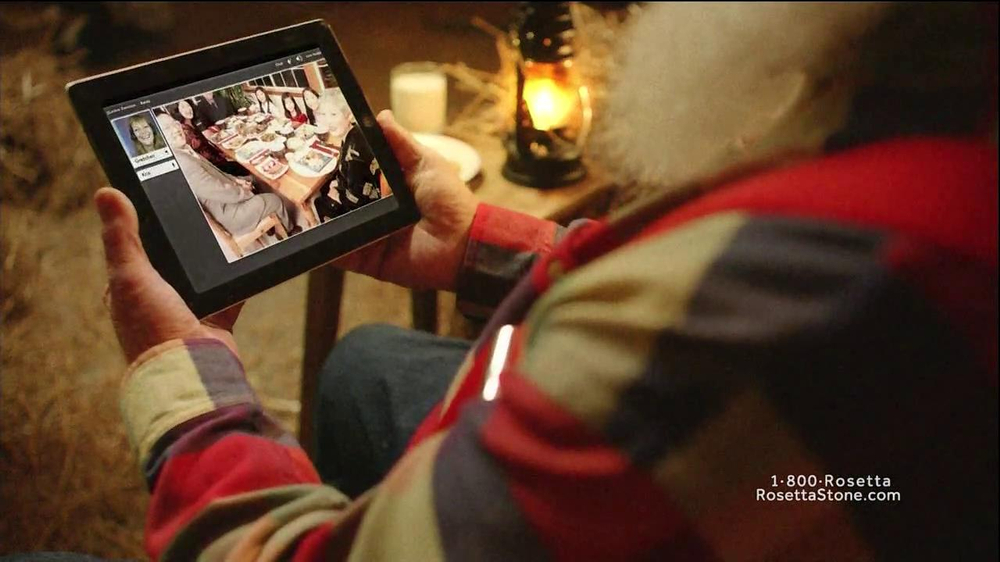 Rosetta Stone TV Spot, 'German-Speaking Santa' - Screenshot 4