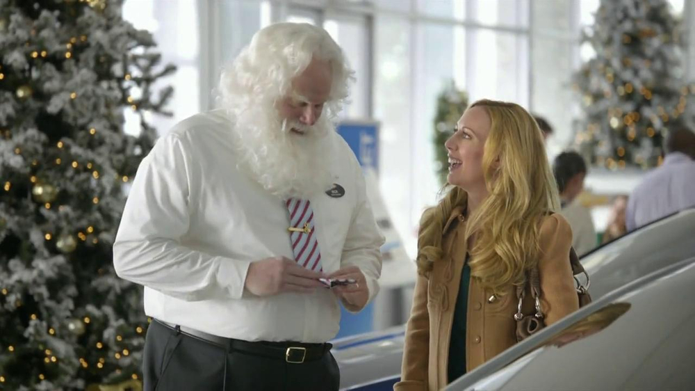 Chevrolet Malibu LS TV Commercial, 'Santa Salesman'