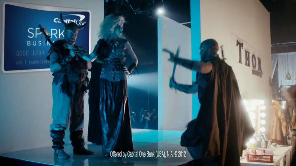 Capital one spark business tv spot fashion show screenshot 8