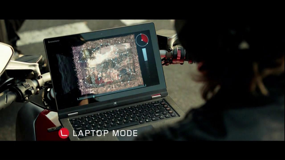Windows 8 Lenovo IdeaPad TV Spot, 'Yoga' - Screenshot 7