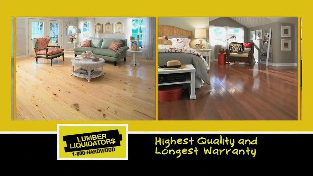 Lumber liquidators tv commercial 39 treat yourself 39 for Lumber liquidators decking material