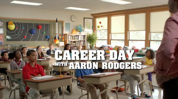 State Farm Double Check TV Spot, 'Career Day' Feat. Aaron Rodgers