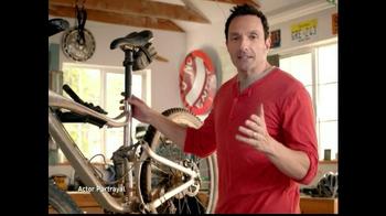 Salonpas Pain-Relieving Gel Patch TV Spot, 'Bicyclist'