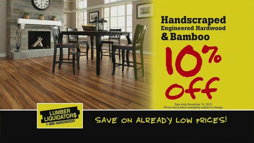 Lumber Liquidators Flooring Sale TV Commercial - iSpot.tv