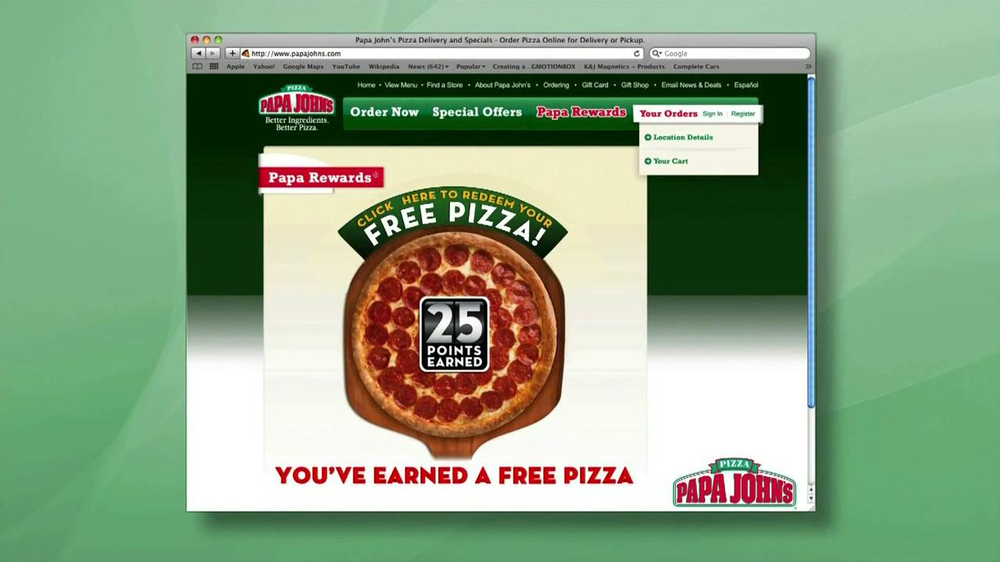 Papa John's TV Spot, 'Better' - Screenshot 10