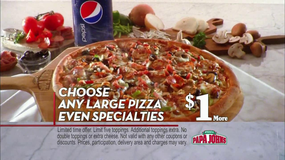 Papa John's TV Spot, 'Better' - Screenshot 8