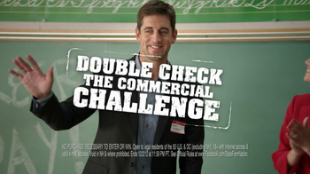 State Farm TV Spot, 'Double Check the Commercial' Featuring Aaron Rogers - 3 commercial airings