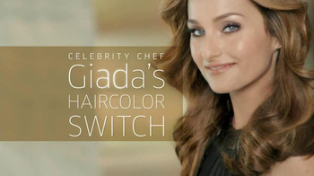 Clairol TV Spot, 'Color Switch' Featuring Giada De Laurentiis