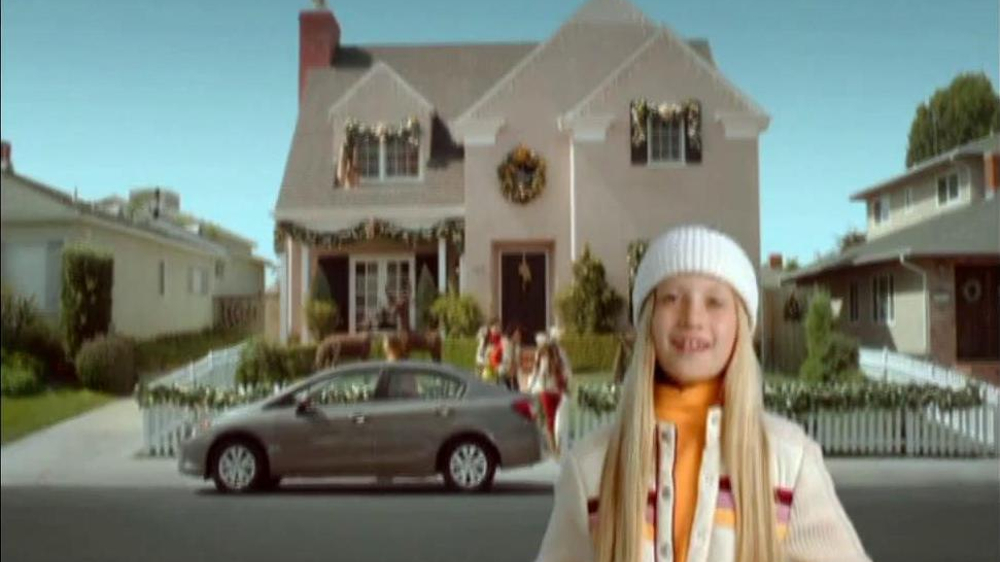 Honda Holiday Sales Event TV Spot, 'Dear Honda: Sister'  - Screenshot 1