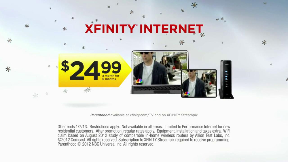 Xfinity Internet Tv Spot 39 Good Gifts Gone Bad New Computer 39