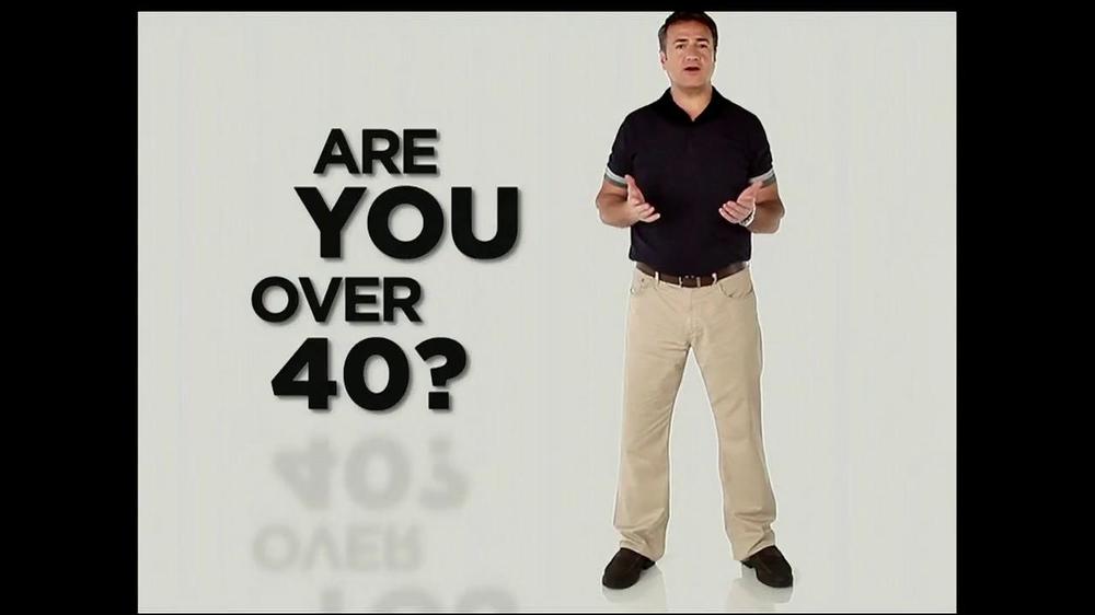 Ageless Male TV Spot, 'Over 40' - Screenshot 1