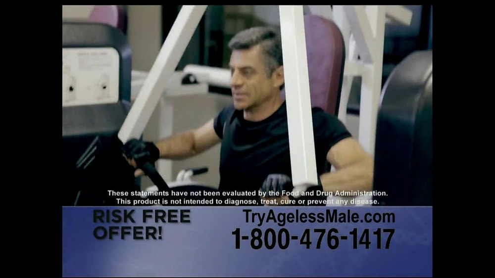 Ageless Male TV Spot, 'Over 40' - Screenshot 7