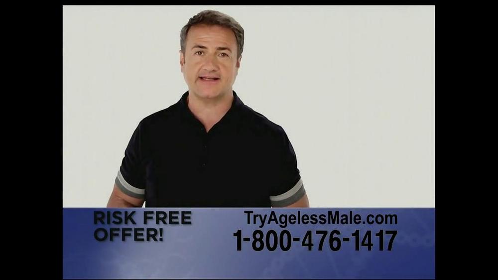 Ageless Male TV Spot, 'Over 40' - Screenshot 9