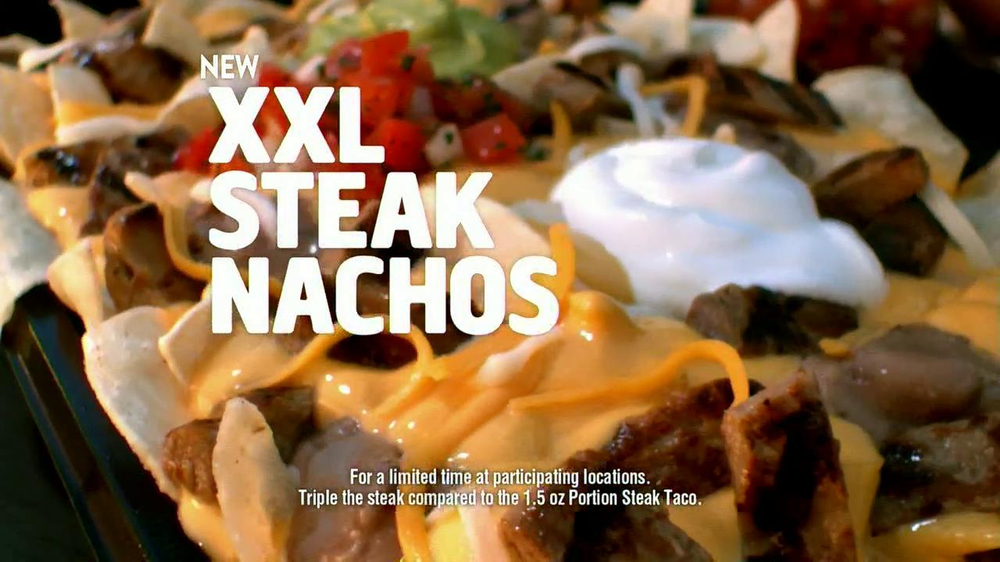 Taco Bell Double XXL Steak Nachos TV Spot  - Screenshot 7