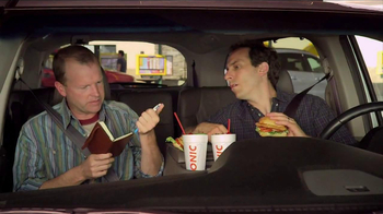 Sonic Drive-In Asiago Chicken Sandwich TV Spot, 'Mind-Blown Notes'