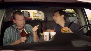 Sonic Drive-In Asiago Chicken Sandwich TV Spot, 'Mind-Blown Notes'