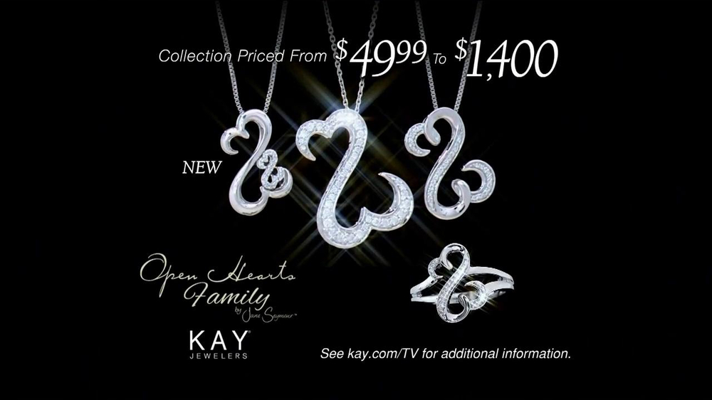 Kay Jewelers TV Spot 'Open Hearts' Featuring Jane Seymour - Screenshot 8