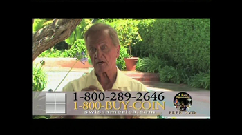 Swiss America TV Spot, 'Power of the U.S. Dollar' Featuring Pat Boone