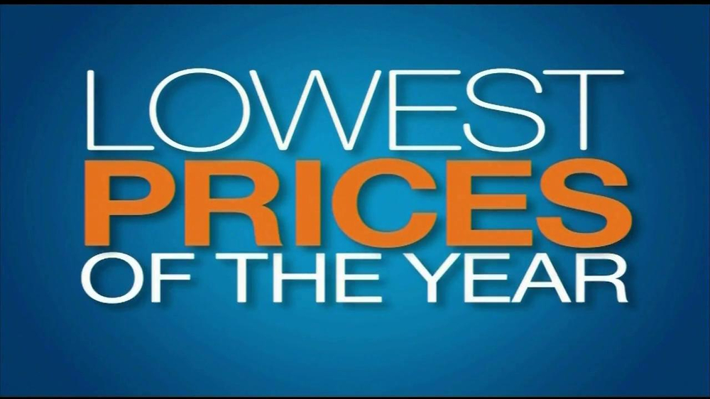 Ashley Furniture Homestore TV mercial Lowest Prices