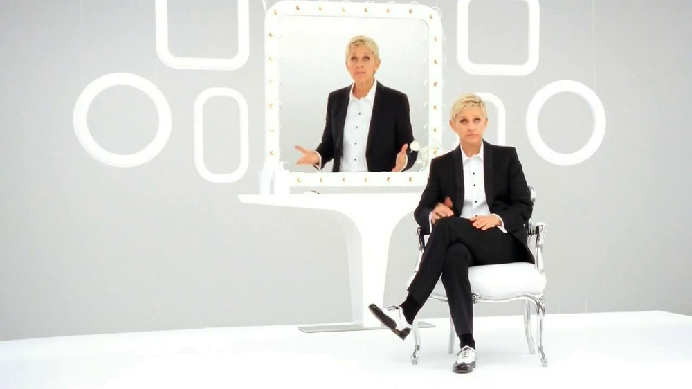 a discussion on the covergirl commercial featuring ellen degeneres Although the ad is accurate — women do say the word sorry more often   corporate interest has often mixed with feminism, but some  4 cover girl  thinks girls can do anything they want, as long as they keep putting stuff on their  face  sure, it had ellen degeneres, who has called out companies for.