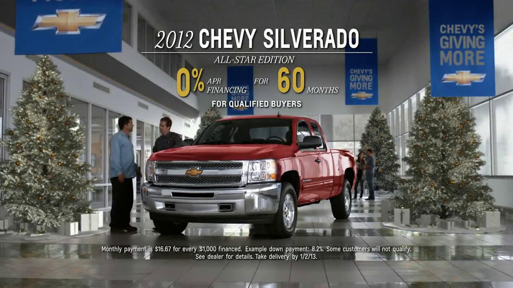 2012 Chevrolet Silverado All Star Edition Tv Spot Santa