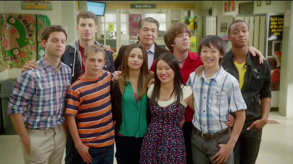 Stop Bullying Speak Up TV Spot Featuring Level Up Cast - Screenshot 10