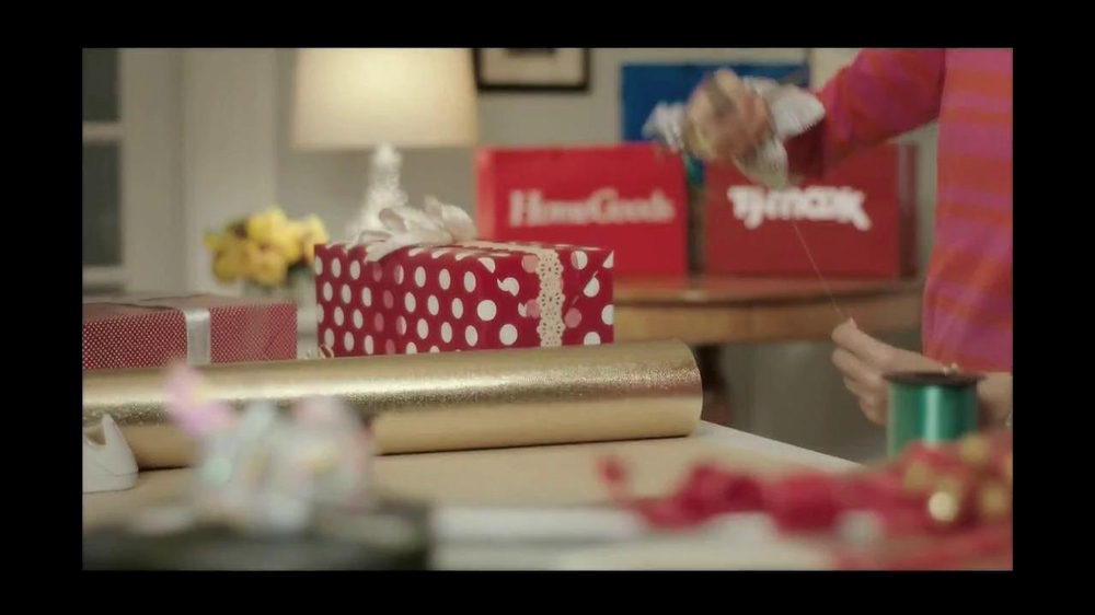 TJ Maxx, Marshalls and HomeGoods TV Spot, 'The Gifter' Featuring Olga Fonda - Screenshot 8