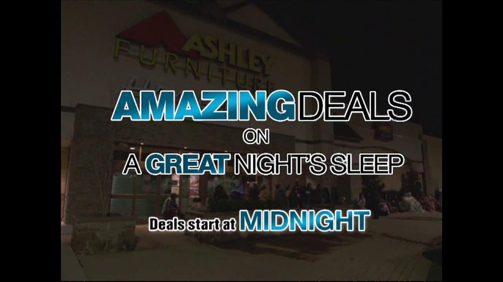 Ashley Furniture Homestore Black Friday Sale Tv Commercial