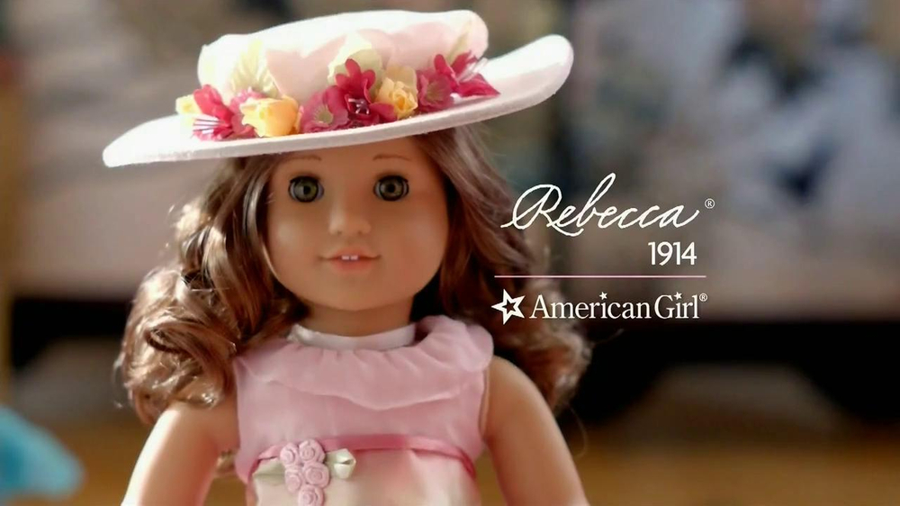 American Girl  Rebecca TV Spot, 'You and I' - Screenshot 6