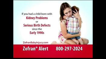 Showalter Law Firm TV Spot, 'Zofran Alert'