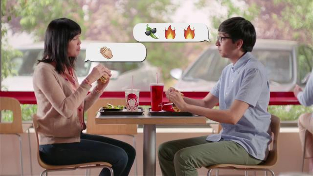 Wendy's Jalapeno Fresco Spicy Chicken Sandwich TV Spot, 'Reactions' thumbnail