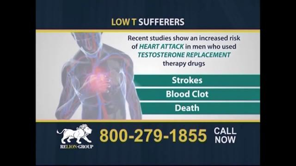 Pulaski Law Firm >> Relion Group TV Commercial, 'Testosterone Replacement ...