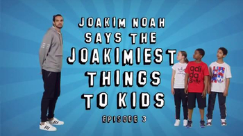 Foot Locker: Joakim Noah Says the Joakimiest Things to Kids: Red