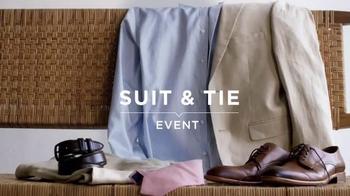 Men's Wearhouse Suit & Tie Event TV Spot, 'Suits, Ties, and BOGO'