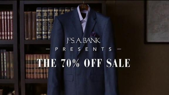 JoS. A. Bank The 70 Percent Off Sale TV Spot, 'Suits, Sport Coats'