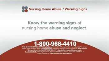 Sokolove Law TV Spot, 'Suspect Nursing Home Abuse'