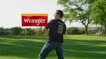 Wrangler Advanced Comfort Jeans TV Spot, 'Work Out' Featuring Drew Brees