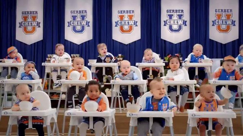 Gerber Baby Food Commercial