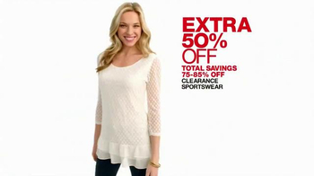 Macy's One Day Sale April 2015 TV Spot, 'Deals of the Day' thumbnail