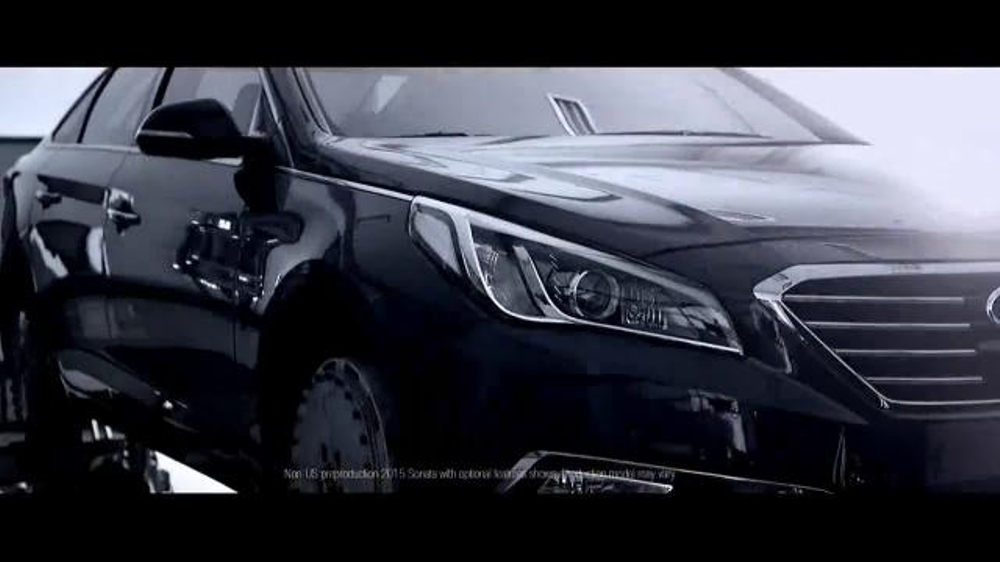 2015 Hyundai Sonata TV Spot, 'Words Won't Do'
