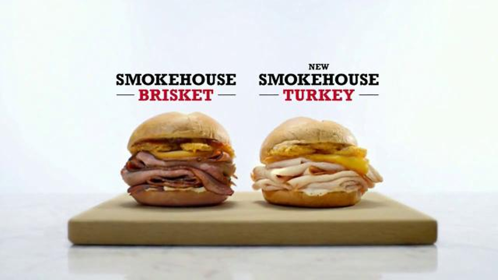 Arby's Smokehouse Turkey TV Spot, 'Real Fire, Real Sandwiches'
