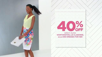 JCPenney Friends & Family Sale TV Spot, 'Mother's Day'