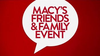 Macy's Friends & Family Event TV Spot, 'Best Savings of the Year'