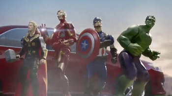 Target: Avengers as Action Figures