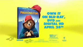 Paddington Blu-ray TV Spot