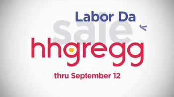 H.H. Gregg Labor Day Sale TV Spot, 'Zero Down, Zero Interest'