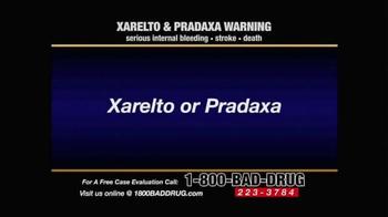 Pulaski & Middleman TV Spot, 'Xarelto & Pradaxa Warning'