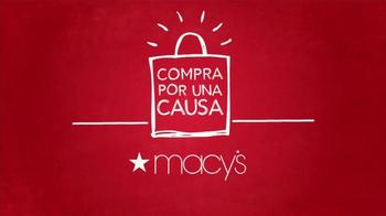 Macy's TV Spot, 'Compra por una causa: March of Dimes' [Spanish] thumbnail
