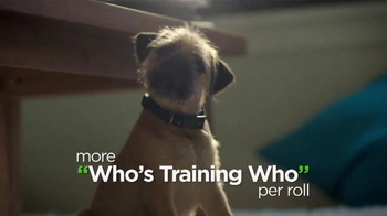 Bounty TV Spot, 'More Dog Life Per Roll' - 10568 commercial airings