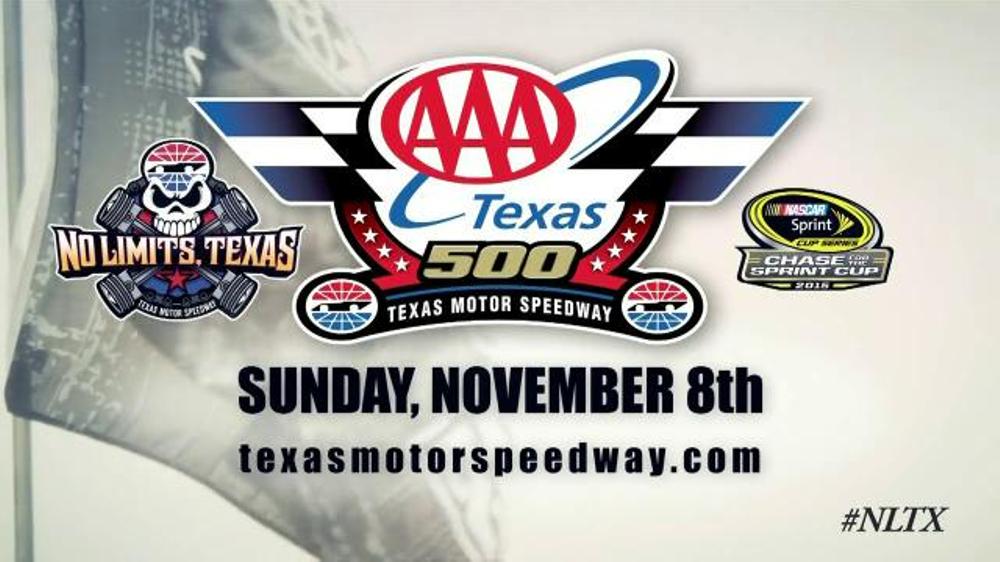 Texas motor speedway tv spot 39 aaa texas 500 39 for Nascar race tickets texas motor speedway